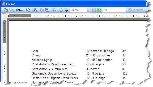 Basic Data Bound Reports
