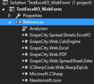 export json to excel