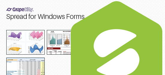 For windows forms spread